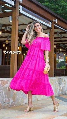 Ave Rara - VESTIDO PEQUIM VIBES - PINK -  OPVL0473