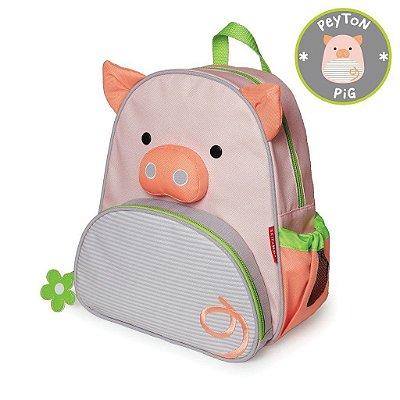 Mochila Porquinha Peyton Pig Skip Hop Infantil