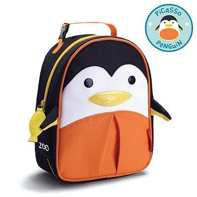Lancheira Termica Pinguim Picasso Penguim Skip Hop Infantil