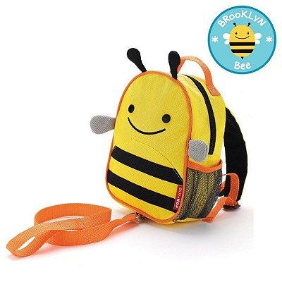 Mochila com Cinto Abelha Brooklyn Bee Skip Hop Infantil