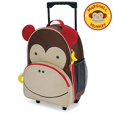 Mala de Rodinha Macaco Marshal Monkey Zoo Skip Hop Infantil