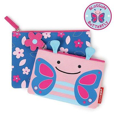 Kit Necessaire Skip Hop Linha Zoo Borbolera Blossom Butterfly