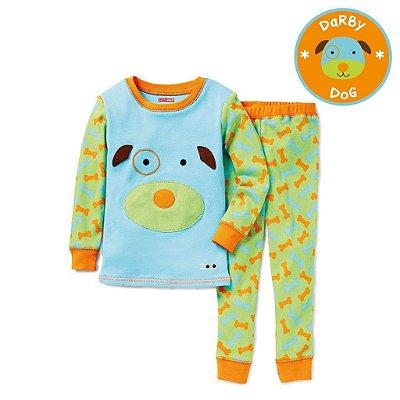 Pijama Linha Zoo Skip Hop Zoojamas Tema Cachorro Darby Dog