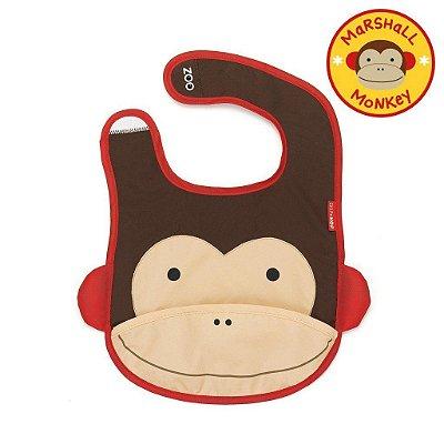 Babador Impermeável Skip Hop Linha Zoo Tema Macaco Marshal Monkey