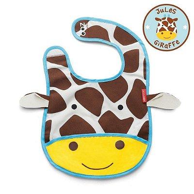 Babador Impermeável Skip Hop Linha Zoo Tema Girafa Jules Giraffe