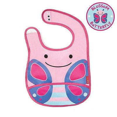 Babador Impermeável Skip Hop Linha Zoo Tema Borboleta Blossom Butterfly