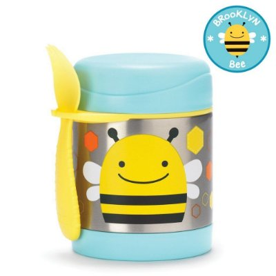 Pote Térmico Skip Hop Linha Zoo Abelha Brooklyn Bee
