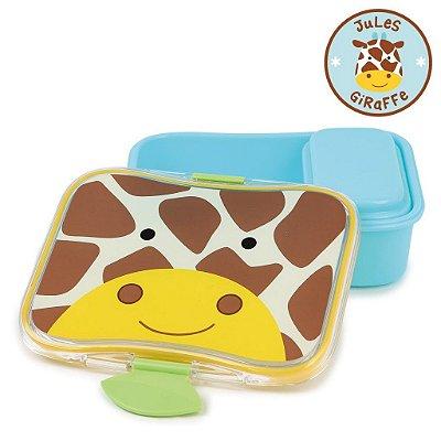 Kit Lanche Skip Hop Zoo Girafa Jules Giraffe