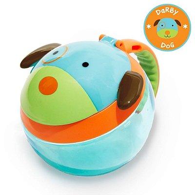 Potinho de Lanche Snack Skip Hop Linha Zoo Cachorro Darby Dog