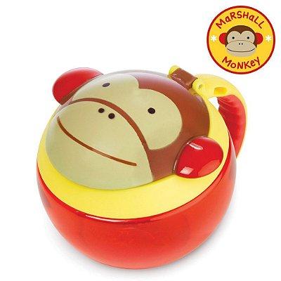 Potinho de Lanche Snack Skip Hop Linha Zoo Macaco Marshal Monkey