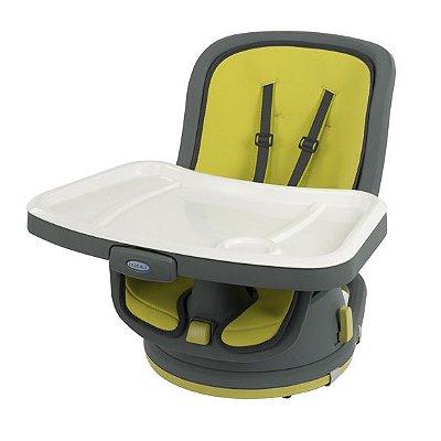 Cadeira Alimentação 3 em 1 Swivi Booster Lime Graco Giro 180