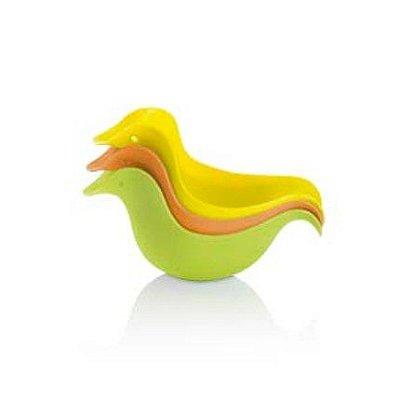 Patinhos Para Banho Quack Ducks 3 Peças