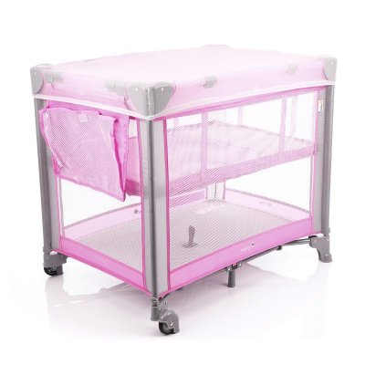 Berço Portátil Mini Play Safety 1st Pop Pink Rosa