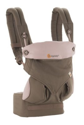 Canguru Ergobaby 360 Baby Carrier Taupe & Lilac