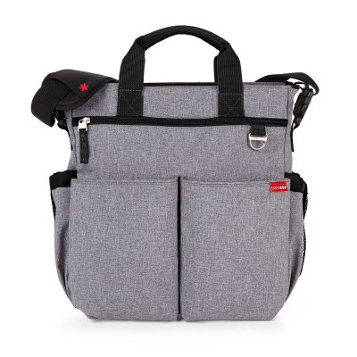 Bolsa Maternidade Diaper Bag Duo Signature Heather Grey Skip Hop