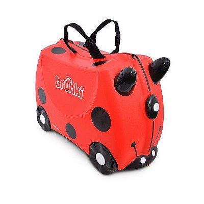 Mala de Viagem com Rodinha Infantil Trunki Joaninha Ladybug Harley