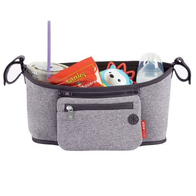 Bolsa Organizadora Skip Hop On The Go Stroller Organizer Heather Grey Cinza