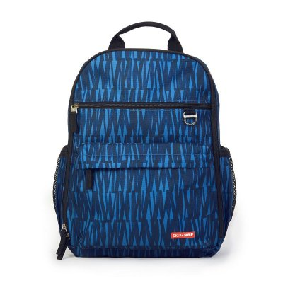 Bolsa Maternidade Diaper Bag Duo Signature Mochila Backpack Blue Graffiti Skip Hop