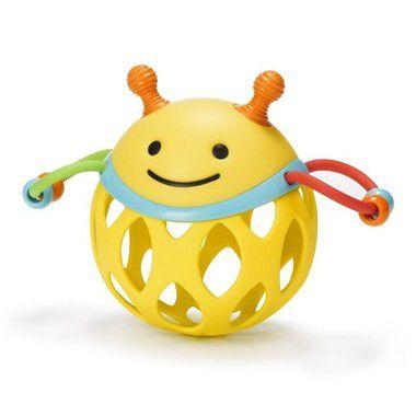 Mordedor Roll Around Abelha Skip Hop Brinquedo para Bebe com Chocalho