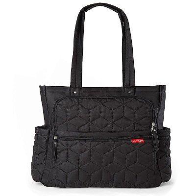 Bolsa Maternidade Skip Hop Diaper Bag Forma Pack & Go Tote Black Preta
