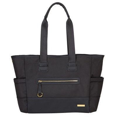 Bolsa Maternidade Skip Hop Diaper Bag Chelsea 2 in 1 Black Preta