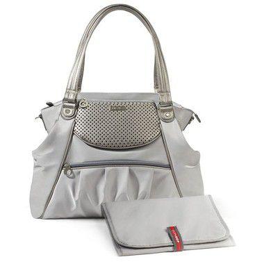 Bolsa Maternidade Skip Hop Diaper Bag Studio Select Pewter