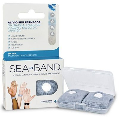 Pulseira Anti Enjoo Nausea Free Gravida Sea Band