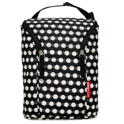 Bolsa Térmica para Mamadeira Double Bottle Bag Skip Hop Connect Dots