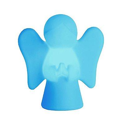 Abajur Luminária Anjinho Azul