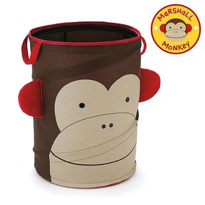 Organizador de Brinquedos Cilindrico Skip Hop Linha Zoo Macaco Marshall Monkey