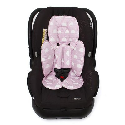 Protetor para Bebe Conforto Rosa Nuvem