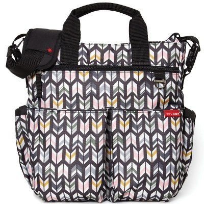 Bolsa Maternidade Diaper Bag Duo Signature Skip Hop Arrows Flechas