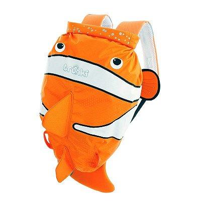 Mochila PaddlePak Passeio Trunki Peixe Palhaço Chuckles Clownfish Laranja