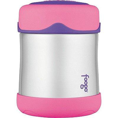 Pote térmico para alimentos Rosa e Lilás Thermos Foogo 290 ml