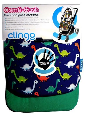 Colchão para Carrinho Comfi Cush Dinosaur Fun - Clingo