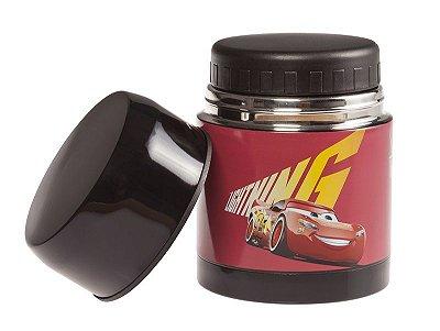 Frasco Térmico de Inox Carros Tampa Dupla - Girotondo Baby - 600 ml