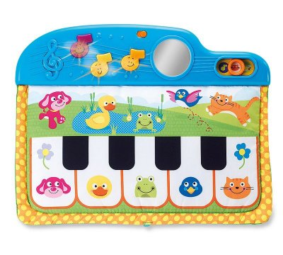 Piano de Berço com Melodias e Sons