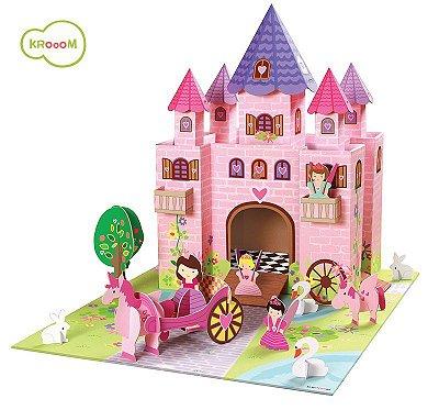 Cenário de Montar Castelo Princesas - Krooom