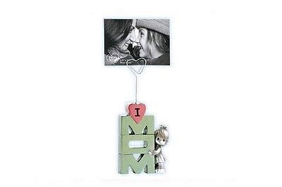 Porta Foto LOVE U MOM menina
