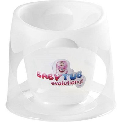Ofurô Baby Tub Evolution Transparente de 0 - 8 meses