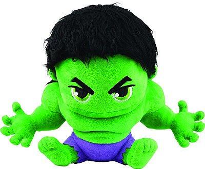 Pelúcia Hulk Vingadores 22cm