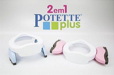 Assento Infantil Portátil Potette Plus 2 em 1