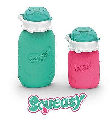 Squeasy Baby para alimentos Líquidos e Sólidos