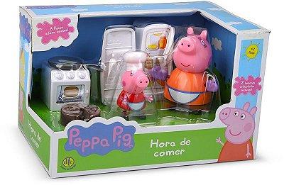 Peppa Pig - Hora De Comer Cozinha Bolo - Dtc