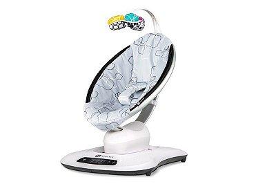 Cadeira Elétrica Mamaroo 4.0 Silver Plush
