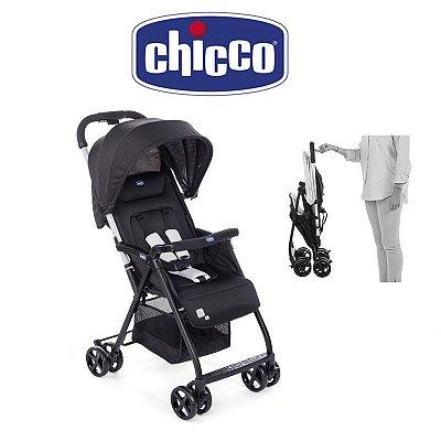 Carrinho de Bebê Alumínio Ohlalá 5 Posições Black Night 0 a 15 kg - Chicco
