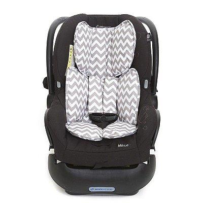 Protetor para Bebe Conforto Chevron Cinza