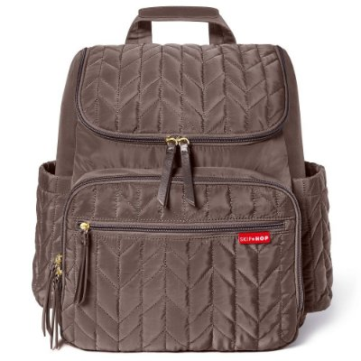 Bolsa Maternidade Skip Hop Diaper Bag Forma BackPack Latte