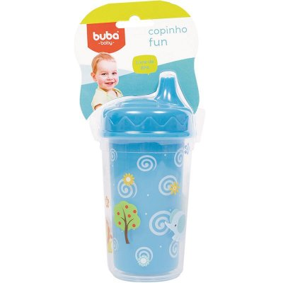 Copinho Fun 250 ml Azul - Buba