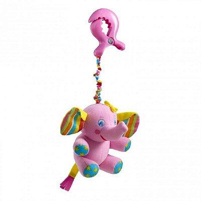 Brinquedo para Bebe Tiny Smarts Elefante Rosa Tiny Love